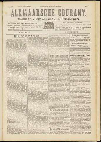 Alkmaarsche Courant 1914-12-23