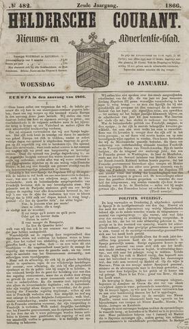 Heldersche Courant 1866-01-10