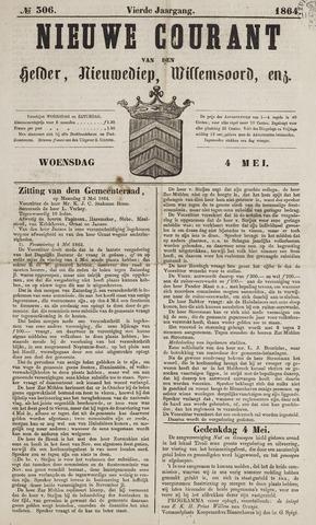 Nieuwe Courant van Den Helder 1864-05-04