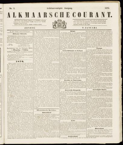Alkmaarsche Courant 1876-01-09