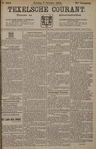 Texelsche Courant 1916-10-08