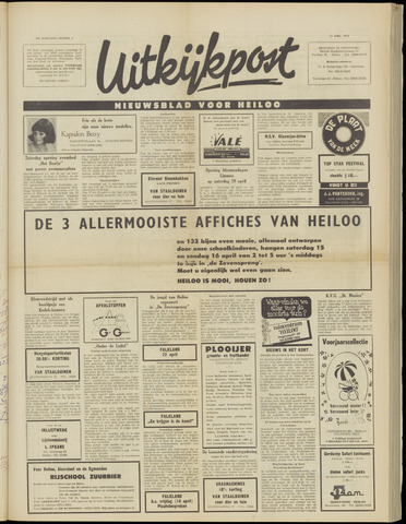 Uitkijkpost : nieuwsblad voor Heiloo e.o. 1972-04-12