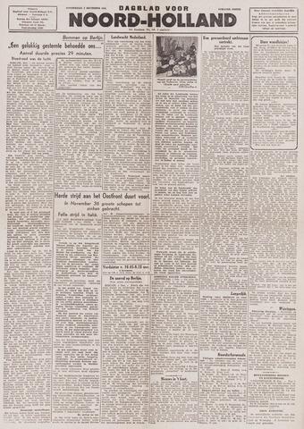 Dagblad Noord-Holland, Schager editie 1943-12-02