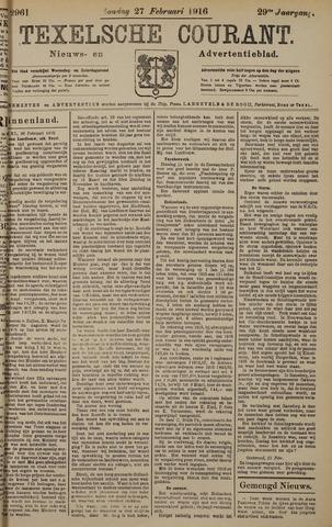 Texelsche Courant 1916-02-27