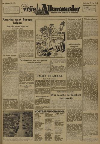 De Vrije Alkmaarder 1947-05-17