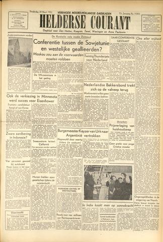 Heldersche Courant 1952-03-20