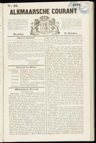 Alkmaarsche Courant 1854-10-23