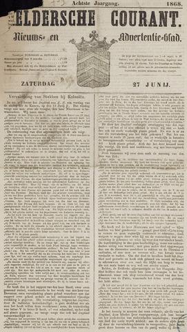 Heldersche Courant 1868-06-27
