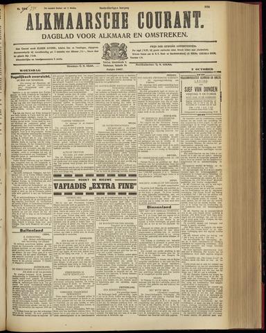 Alkmaarsche Courant 1928-10-03