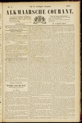 Alkmaarsche Courant 1883-01-21