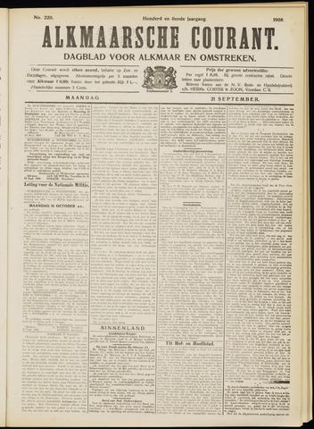 Alkmaarsche Courant 1908-09-21