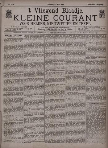 Vliegend blaadje : nieuws- en advertentiebode voor Den Helder 1886-05-05