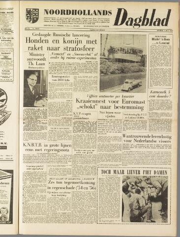 Noordhollands Dagblad : dagblad voor Alkmaar en omgeving 1959-07-07