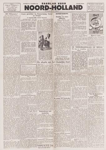 Dagblad Noord-Holland, Schager editie 1943-11-25