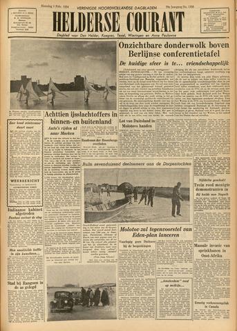 Heldersche Courant 1954-02-01