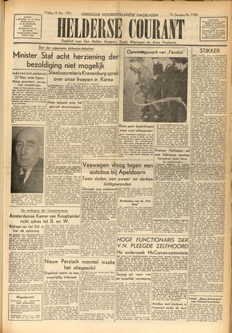 Heldersche Courant 1952-11-14