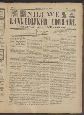 Nieuwe Langedijker Courant 1896-03-15