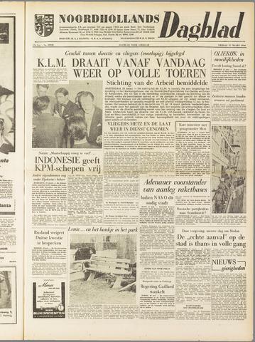 Noordhollands Dagblad : dagblad voor Alkmaar en omgeving 1958-03-21