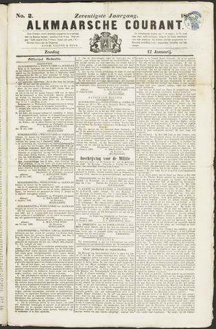 Alkmaarsche Courant 1868-01-12