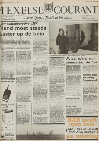 Texelsche Courant 1986-10-21
