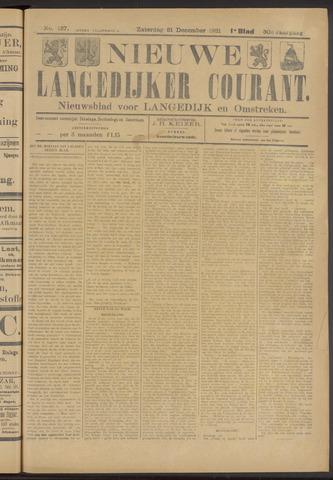 Nieuwe Langedijker Courant 1921-12-31
