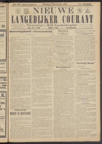 Nieuwe Langedijker Courant 1928-11-06