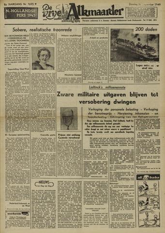 De Vrije Alkmaarder 1949-09-20