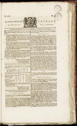 Alkmaarsche Courant 1831-10-24