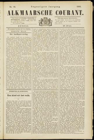 Alkmaarsche Courant 1888-07-29