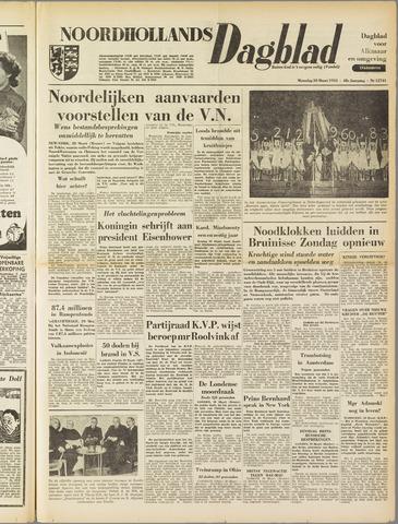 Noordhollands Dagblad : dagblad voor Alkmaar en omgeving 1953-03-30
