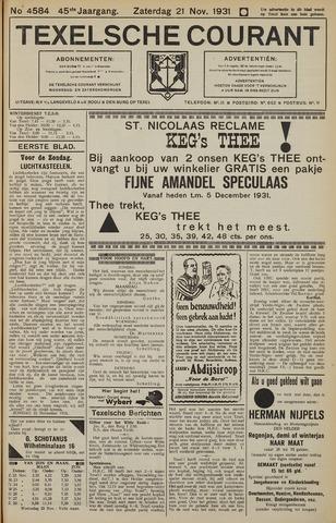 Texelsche Courant 1931-11-21