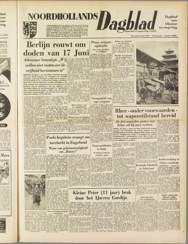 Noordhollands Dagblad : dagblad voor Alkmaar en omgeving 1953-06-24