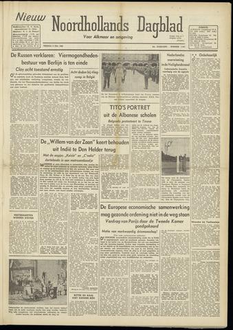 Nieuw Noordhollandsch Dagblad : voor Alkmaar en omgeving 1948-07-02