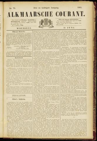Alkmaarsche Courant 1881-06-15