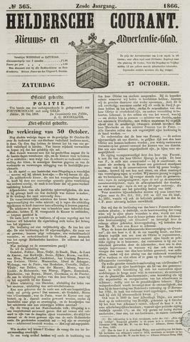 Heldersche Courant 1866-10-27