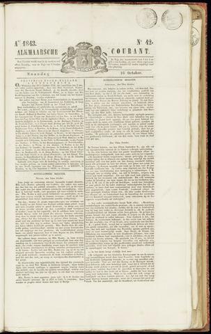 Alkmaarsche Courant 1843-10-16