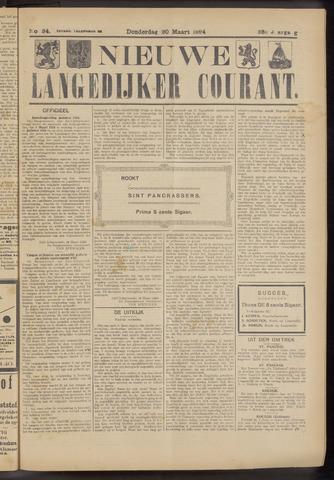Nieuwe Langedijker Courant 1924-03-20