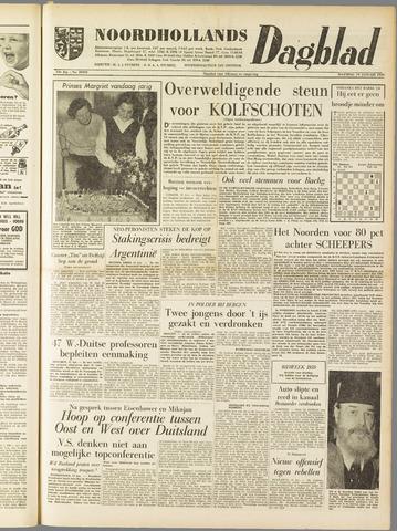 Noordhollands Dagblad : dagblad voor Alkmaar en omgeving 1959-01-19