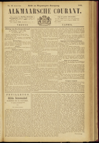 Alkmaarsche Courant 1896-04-03