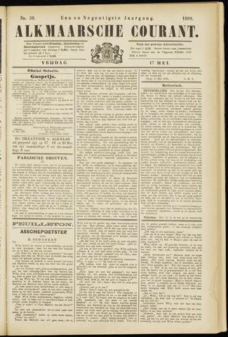Alkmaarsche Courant 1889-05-17