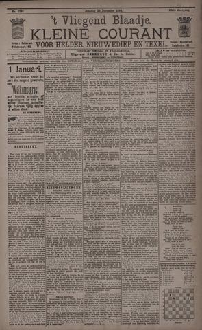 Vliegend blaadje : nieuws- en advertentiebode voor Den Helder 1894-12-26