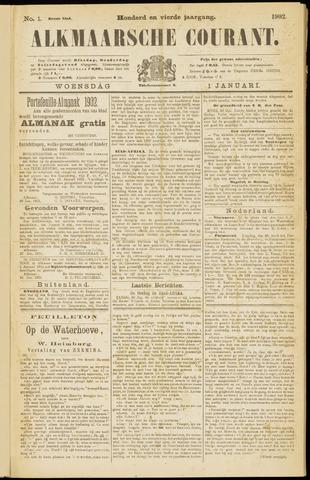 Alkmaarsche Courant 1902-01-01