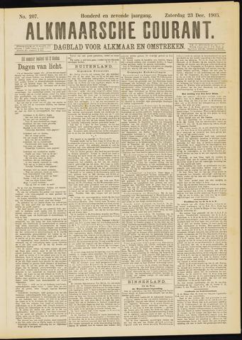 Alkmaarsche Courant 1905-12-23