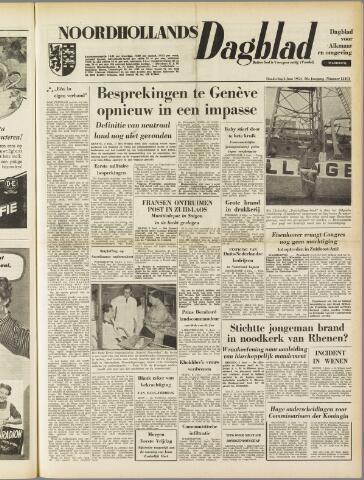 Noordhollands Dagblad : dagblad voor Alkmaar en omgeving 1954-06-03