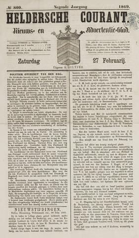 Heldersche Courant 1869-02-27