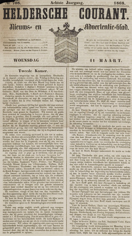 Heldersche Courant 1868-03-11