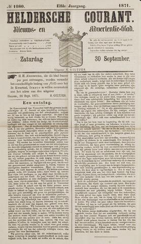 Heldersche Courant 1871-09-30