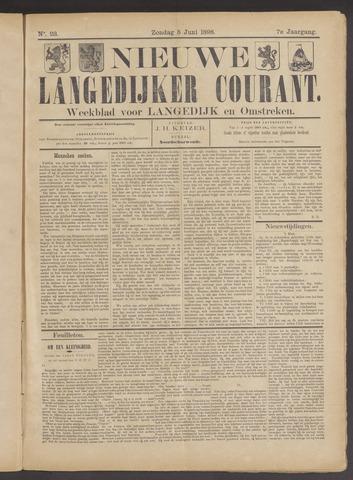 Nieuwe Langedijker Courant 1898-06-05