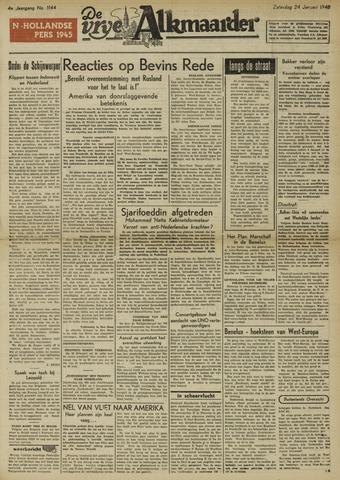 De Vrije Alkmaarder 1948-01-24