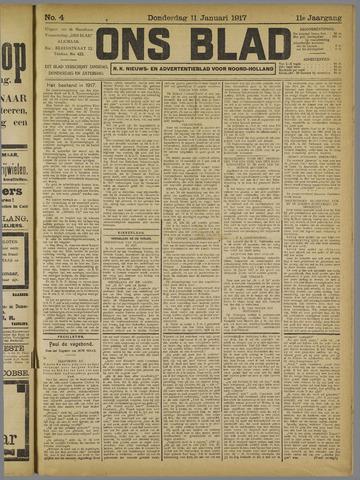 Ons Blad : katholiek nieuwsblad voor N-H 1917-01-11